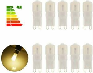 1/3/6/10pcs G9 LED Bulb Dimmable 5W 2835 SMD Light Lamp Bi-Pin Base 220V Lamp