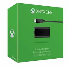 Microsoft Xbox One Jouer Et Charge Kit Pack Batterie Rechargeable Câble USB