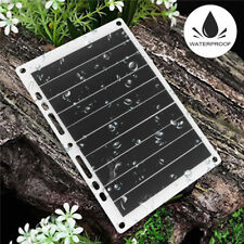 5V 10W Solar Power Charging Panel USB Battery Charger For Samsung IPhone Tablet