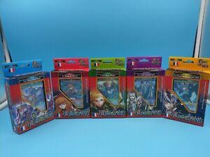 TCG neuf FR force of will lot de 5 deck glace rage elfique vampire fées