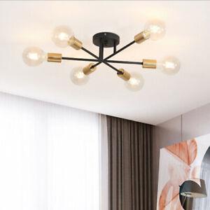 Ceiling Hanging Lamp Post modern Nordic Chandelier Sputnik 85-265 V