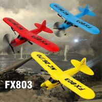 FX-803 2.4G 2CH 340mm Wingspan Remote Control Glider Fixed Wing RC Airplane Gift