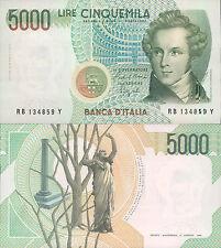 "5.000 lire 1988  ""V. Bellini"""