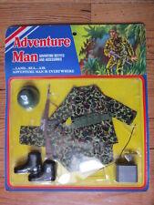 GI JOE ACTION MAN  BLISTER   ADVENTURE MAN US MARINE 1976 CECIL COLEMAN LTD