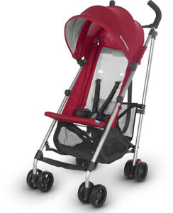 UPPAbaby 2020 G-Lite Stroller - Denny Red - NEW! (Open box)