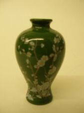 Vintage Franklin Mint Porcelain Plum Blossom Vase Treasures Imperial Dynasties
