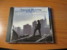 New listing Vincent Herring - The Days Of Wine And Roses Musicmasters Jazz Cd