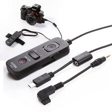 Shutter Release Remote Cable For SONY α7 α7II A7RII A7SII α6000 α6300 as RM-VPR1