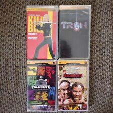 Lot of 4 PSP UMD Video Movies Adult Wildboyz 1 & 2 Kill Bill Disney's Tron NIP