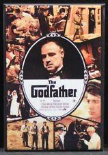 "The Godfather Movie Poster 2"" X 3"" Fridge / Locker Magnet. Brando Al Pacino"