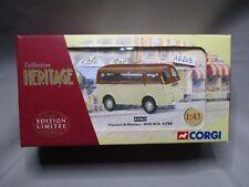 AG203 CORGI HERITAGE 1/43 CHENARD WALCKER MINI BUS VITRE EX70623 Ed Lim 2400ex
