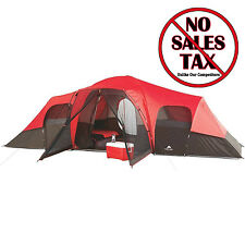 10 Person Camping Tent Enlarged 3 Removable Room Cabin Tents Dome Family Tent