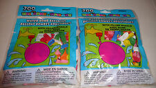 400 Water Bomb Balloons and 2 Hose Nozzles for Filling Assorted Colors USA Ships