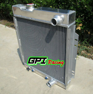3 ROW Aluminum Radiator For Ford MUSTANG V8 289 302 WINDSOR 1964-1966 1965
