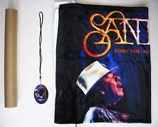 SANTANA 2017 Tour VIP Merchandise Set includes: Poster, Blanket, and Laminate