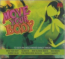 MOVE YOUR BODY - 12 Sizzling Bollywood Dance Tracks - SEALED! 2007 Indian CD
