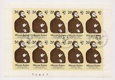 DDR - Briefmarken - Kleinbogen -1982 - Mi. Nr. 2755 - Sonderstempel
