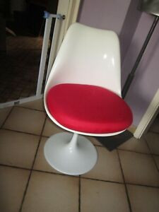 Stuhl mit Tulpen Fuß - Tulip Chair by Rudi Bonzanini - 60er Jahre - Space Age
