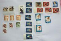 Lot mit 25 Stück Briefmarken; Bundesrepublik ungestempelt