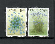 S33933 Island Iceland MNH 2002 Flowers 2v