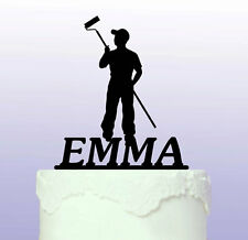 Personalised Painter and Decorating Cake Topper