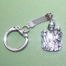 St. Joseph fob/medal key ring chain B4