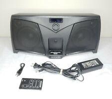 KICKER iK501 Portable iPod Dual Digital Stereo Speaker System Blaster w/ Remote