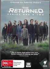 The Returned : Series 1-2 (DVD, 2016, 3-Disc Set) New Region 4 Free Post