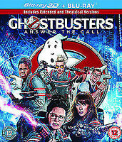 Ghostbusters - Answer The Call 3D+2D Blu-Ray NEW BLU-RAY (SBR48333DUV)