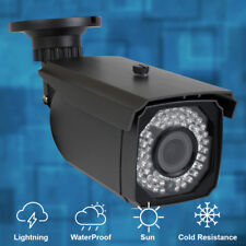 5MP 1920P H.265 PoE IP Bullet Camera Waterproof 2.8-12mm Varifocal Lens 180FT IR