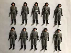 Vintage Star Wars Death Squad Commander Loose Figures x10