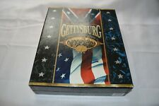 GETTYSBURG ~ LIMITED COLLECTOR'S EDITION ~ BOX SET ~ VHS ~ PHOTOS ~ BOOK ~ MAP