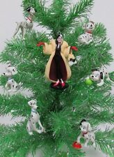 101 Dalmatians Christmas Ornament Set of 12 with Lucky, Rolly, Patch, Penny New