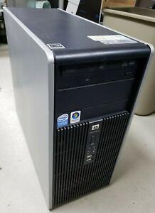 HP Compaq Dc5800 Desktop Computer 2.4GHz 2GB 250GB Windows Vista Business