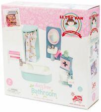 Le Toy Van DOLL HOUSE DAISYLANE BATHROOM Wooden Toy BNIP