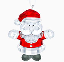 New in Box Authentic Swarovski Christmas Santa Claus Ornament #5286070