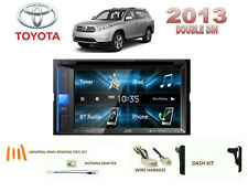 TOYOTA HIGHLANDER 2013 CAR STEREO KIT, TOUCHSCREEN DVD USB BLUETOOTH