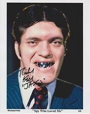 Richard Kiel Signed 8x10 Photo - The Spy Who Loved Me - JAWS !!! RARE!!!!