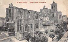 BF34279 catedral vista de conjunto   tarragona spain front/back scan