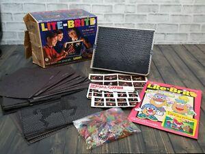 Vintage 1967 Lite-Brite Hasbro 5455 with Original Box & Mr Potato & Looney Tunes