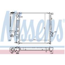 Kühler Motorkühlung - Nissens 60623A