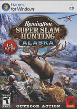 Remington Super Slam HUNTING ALASKA Outdoor Action PC Game Windows XP-Vista NEW!