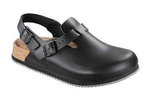 BIRKENSTOCK Professional Schuhe Tokio SL 61194 schwarz Clogs Leder normal 37-48