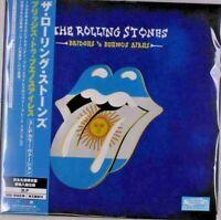 Rolling Stones - Bridges to Buenos Aires Transculent Blue 3 Vinyl LP Japan OBI