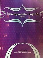 Developmental English (Custom Edition for Passaic County Community College)