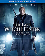 The Last Witch Hunter (Blu-ray Disc, 2016, 2-Disc Set, Digital Copy Included)