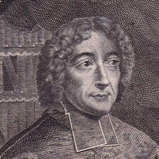 Portrait XVIIIe Emmanuel-Théodose de La Tour d'Auvergne Cardinal Bouillon