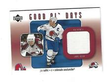 Joe Sakic 2002-03 Upper Deck Good Ol Days Jersey Card, # GO-JS, Colorado