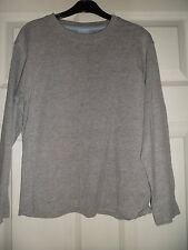 """Ladybird, long sleeve,t. shirt, in grey age 8-9 approx size 32"""",cotton/viscose"""