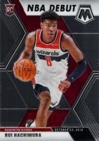 Rui Hachimura RC 2019-20 MOSAIC NBA Debut Rookie Card #275 Washington Wizards